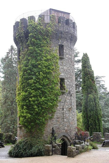 powerscourt, ireland, garden